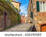 montecatini alto. italy. | Shutterstock . vector #420190585