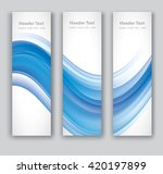 design set of vertical modern... | Shutterstock .eps vector #420197899
