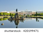 Russia.the Town Of Peterhof.22...