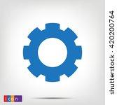 gear | Shutterstock .eps vector #420200764