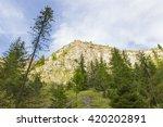 gorge homole in pieniny... | Shutterstock . vector #420202891