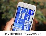 sarajevo   bosnia and... | Shutterstock . vector #420209779