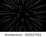 firework on the black sky... | Shutterstock . vector #420227431