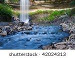 beautiful minnehaha creek... | Shutterstock . vector #42024313