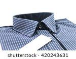 long sleeve shirt for men on... | Shutterstock . vector #420243631