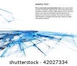 abstract background design | Shutterstock . vector #42027334