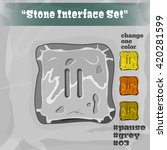 stone user interface element 03....