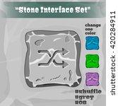 stone user interface element 08....