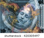 Digital Dreams Series. Abstrac...