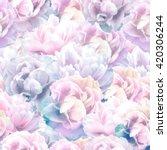 elegance seamless floral... | Shutterstock . vector #420306244