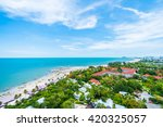 Beautiful architecture in hua hin city at Thailand
