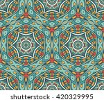 vector abstract ethnic seamless ... | Shutterstock .eps vector #420329995