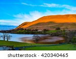 evening at the ullswater lake
