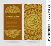vector nature decor for your... | Shutterstock .eps vector #420344611