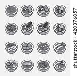 ramen icon  japanese noodle     ... | Shutterstock .eps vector #420376057