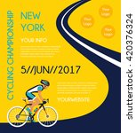 cycling competition   race... | Shutterstock .eps vector #420376324