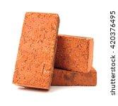 Stack Of Old Red Bricks...