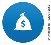 money icon design on blue...