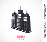 building icon. vector  eps 10