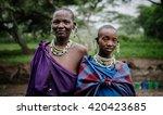 masai mara   october 02   young ... | Shutterstock . vector #420423685