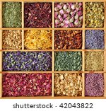 Assortment Of Dried Tea In...