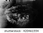 Digital Glitch Background