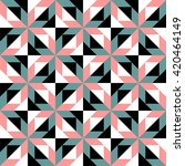 abstract geometric pattern... | Shutterstock .eps vector #420464149