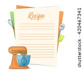 banner  sticker  a note for the ... | Shutterstock .eps vector #420467341