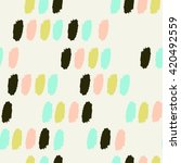 modern seamless pattern with... | Shutterstock .eps vector #420492559