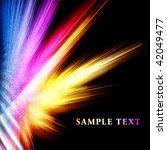 beautiful bright fractal... | Shutterstock . vector #42049477