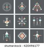 esoteric  alchemy  sacred... | Shutterstock .eps vector #420496177