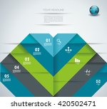 infographic design template... | Shutterstock .eps vector #420502471