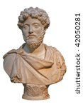 Marble Bust Of The Roman...