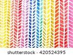 colorful herringbone pattern in ...   Shutterstock . vector #420524395