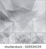 fractal abstract background.... | Shutterstock .eps vector #420534154