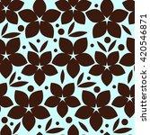 Seamless Floral Wallpaper....