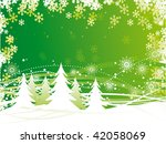 winter background | Shutterstock .eps vector #42058069