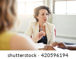 unposed group of creative... | Shutterstock . vector #420596194