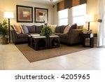 modern tastefully decorated... | Shutterstock . vector #4205965