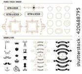 vintage label badge design... | Shutterstock .eps vector #420688795