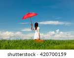 photo of young beautiful woman... | Shutterstock . vector #420700159