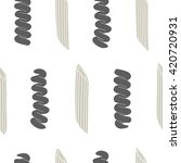 seamless pattern with italian... | Shutterstock . vector #420720931