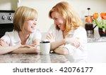 best friends having a laugh in...   Shutterstock . vector #42076177