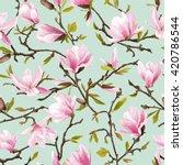 Seamless Floral Pattern....