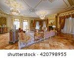 luxurious interiors | Shutterstock . vector #420798955