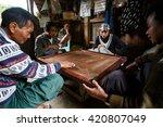 hakha  myanmar   june 19 2015 ... | Shutterstock . vector #420807049