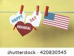Постер, плакат: Memorial Day USA America