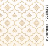 vector seamless gold and white...