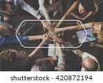 banner announcement commercial... | Shutterstock . vector #420872194