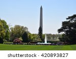washington  dc   apr 17  view... | Shutterstock . vector #420893827